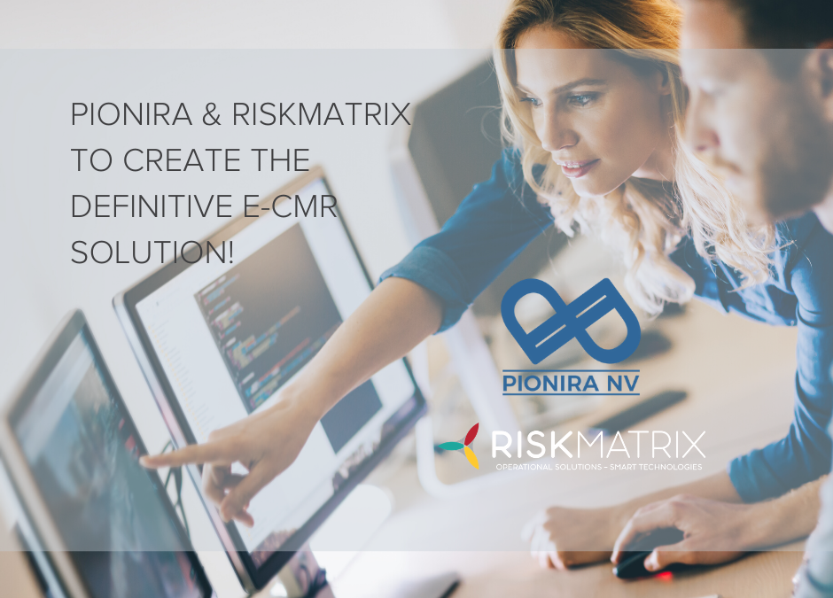 Belgian tech innovators RiskMatrix and Pionira are joining forces!