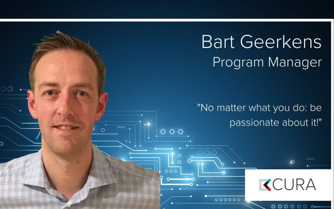 Bart Geerkens – new program manager at CURA Solutions